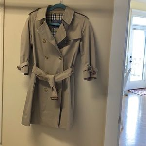 Burberry's of London trench coat